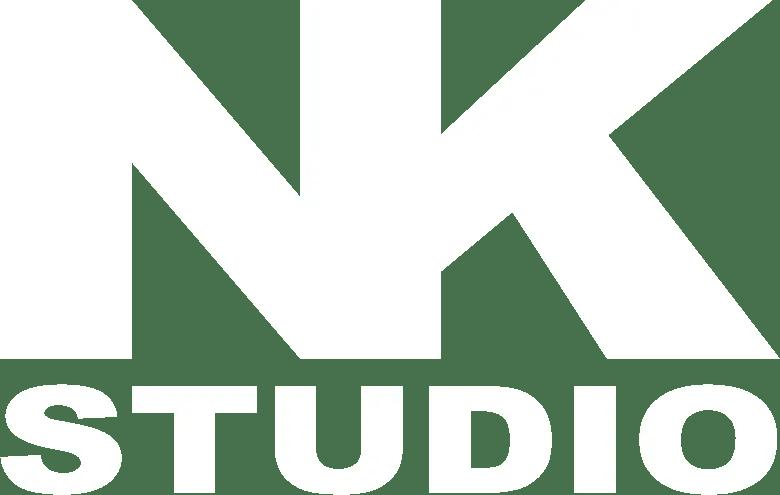 nk studio logo white