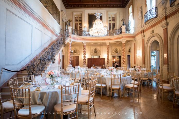 Ross  Caitlins Anderson House Wedding Washington DC  Nick  Kami Swingle