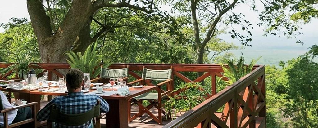 The Powerful Nyiragongo View at Mikeno Lodge