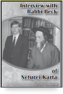 Interview with Rabbi Beck