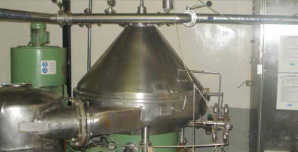 State of the Art Low Pulp Clarifier Centrifuge