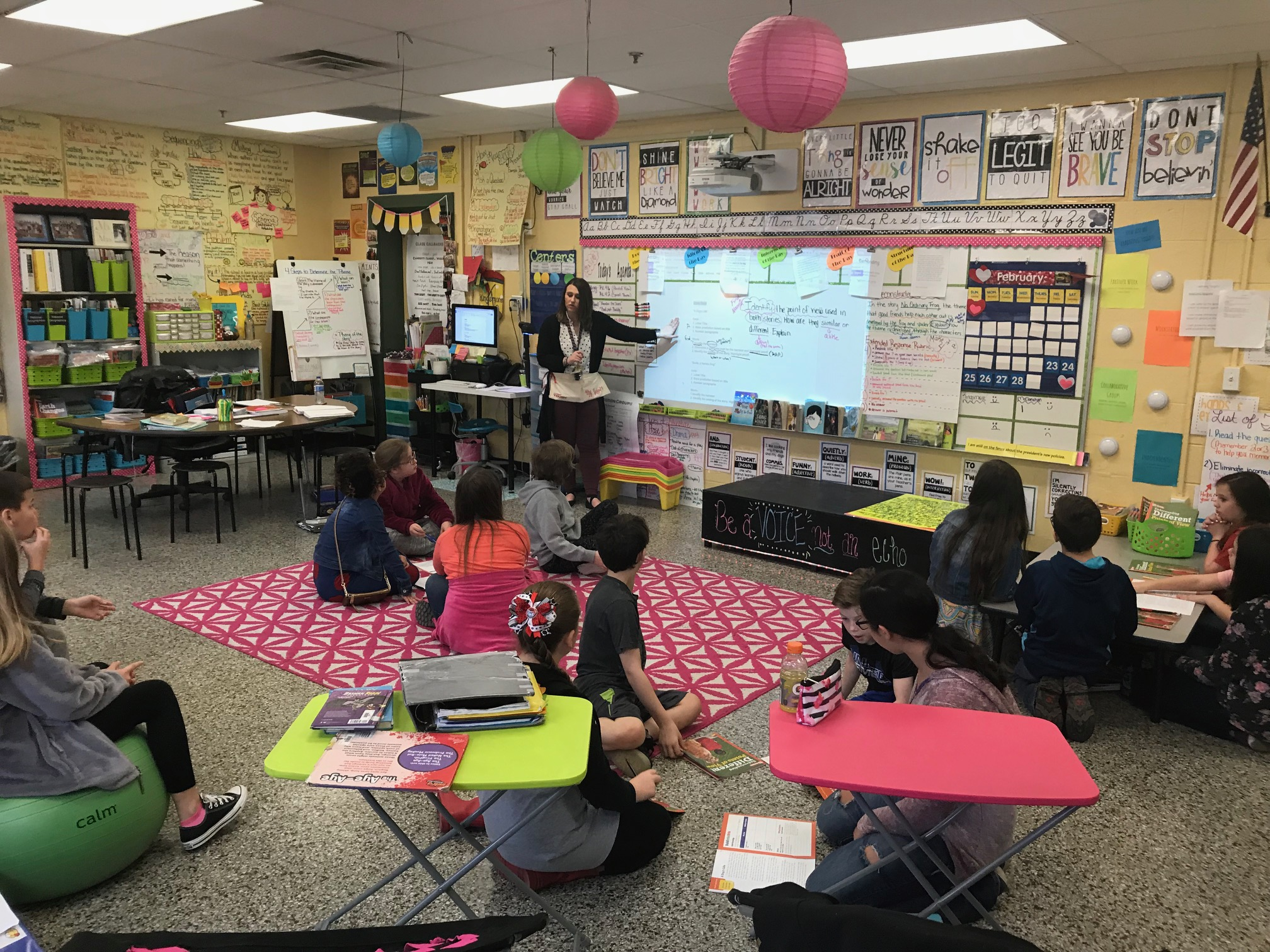 Ron Daley Day In Lawrence County Elementary Classroom