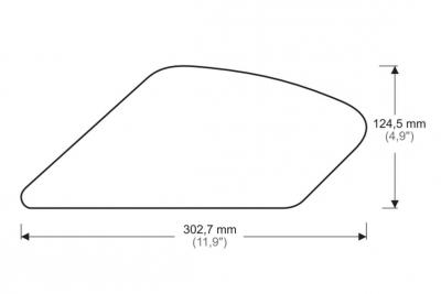 Puig Tank Grips Ducati Monster 1200 R