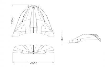 Puig Schnabel Yamaha Tracer 900 GT