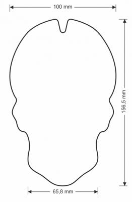 Puig Tankpad Skull