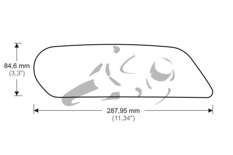 Puig Tank Grips Kawasaki Z900