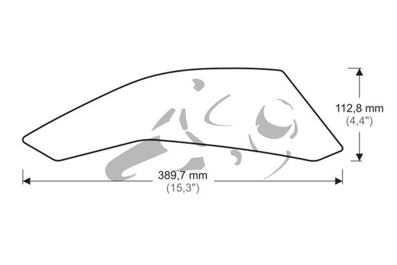 Puig Tank Grips Suzuki GSX-S 750