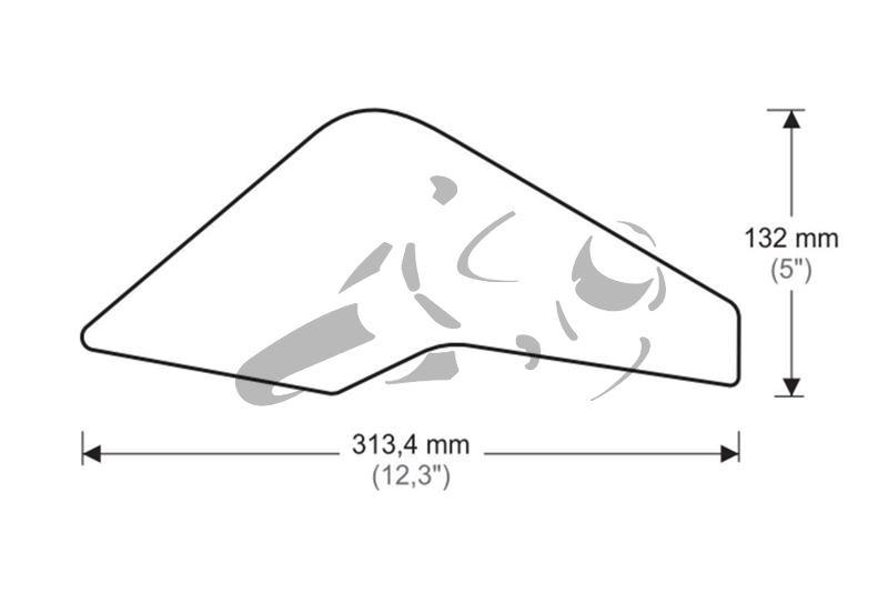 Puig Tank Grips Yamaha Tracer 900