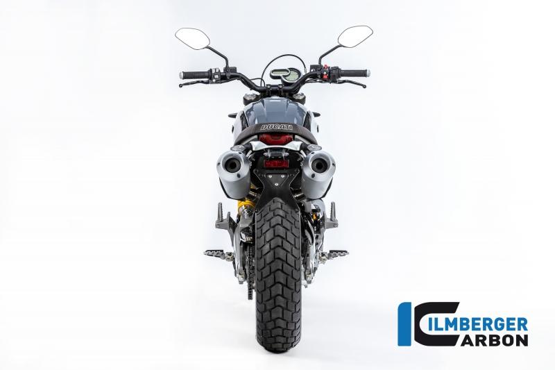 Carbon Ilmberger Abdeckung unterm Rahmen Set Ducati