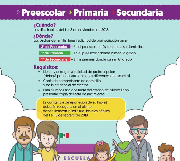 Inscripciones Para Educación Básica Ciclo Escolar 2019