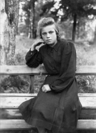 Anonymous photographer and model, Soviet Union, 1950s.