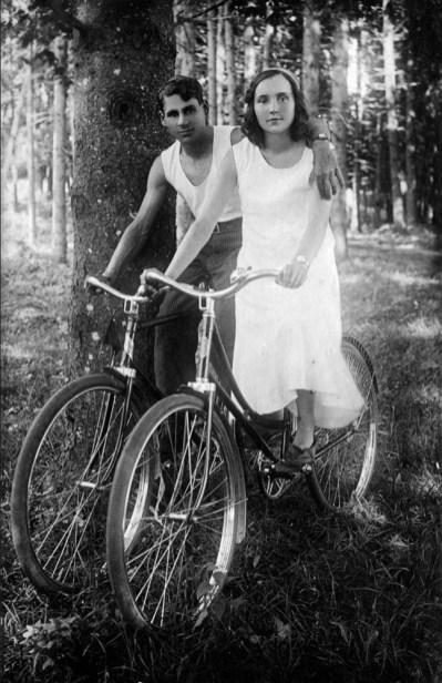 Anonymous photographer and cyclists. Georgia, Soviet Union, 1920s.