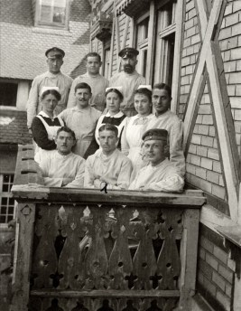 Anonymous photographer, Germany, military hospital, 1914-1918