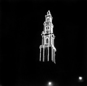 Anonymous photographer. The 'Westerkerk' (Church of the Western part of town) Amsterdam, 1950s.