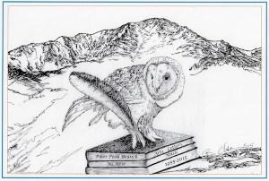 NLAPW Pikes Peak Branch logo by Bonnie Benschneider Olson Pikes Peak Branch, CO New Art Member