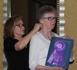 Sarah Rickman, Vinnie Ream Letters Award