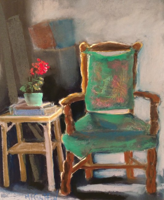 Grandma's-Chair by Mary Lou Griffin