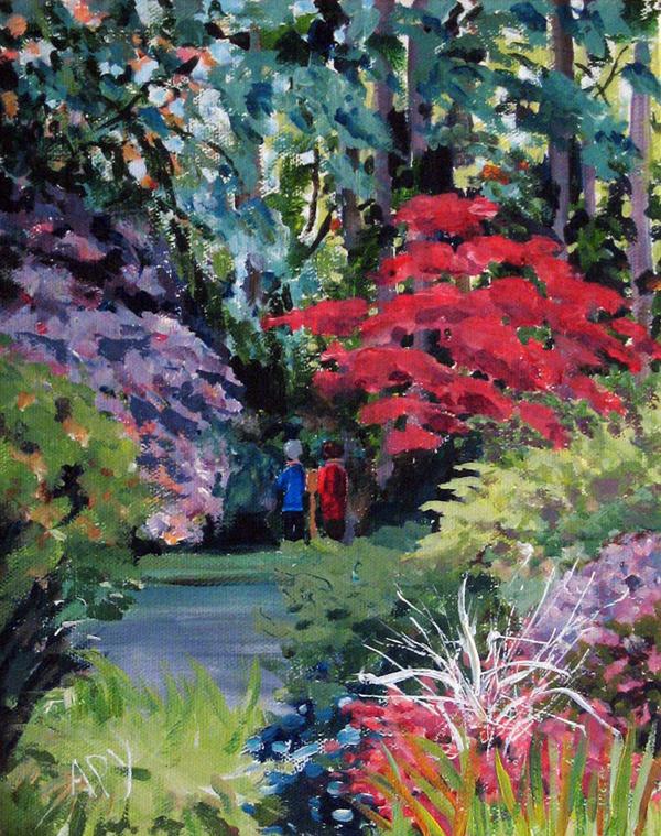 Spring by Anne Yates