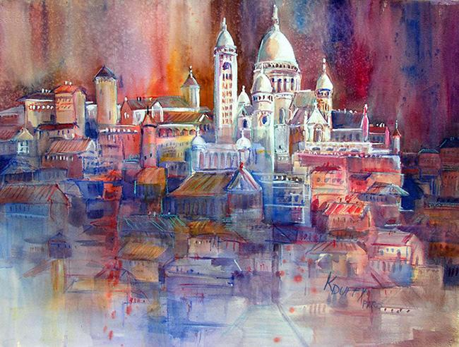 Featured Art: Sacre Coeur