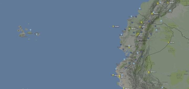Flight Radar 24 Ecuador   Nicolás Larenas