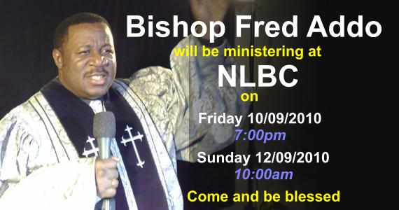 Bishop Fred Addo
