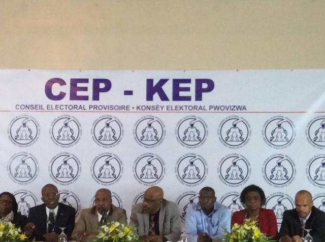 CEP haiti elections 2015 oct
