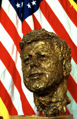Objects Of Art Bust Of President John F Kennedy