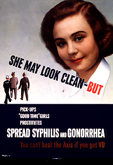 Venereal disease poster 1940