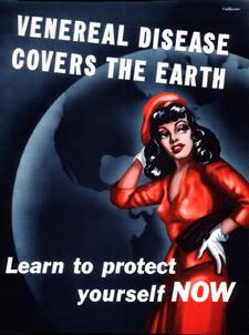 Venereal Disease Covers the earth