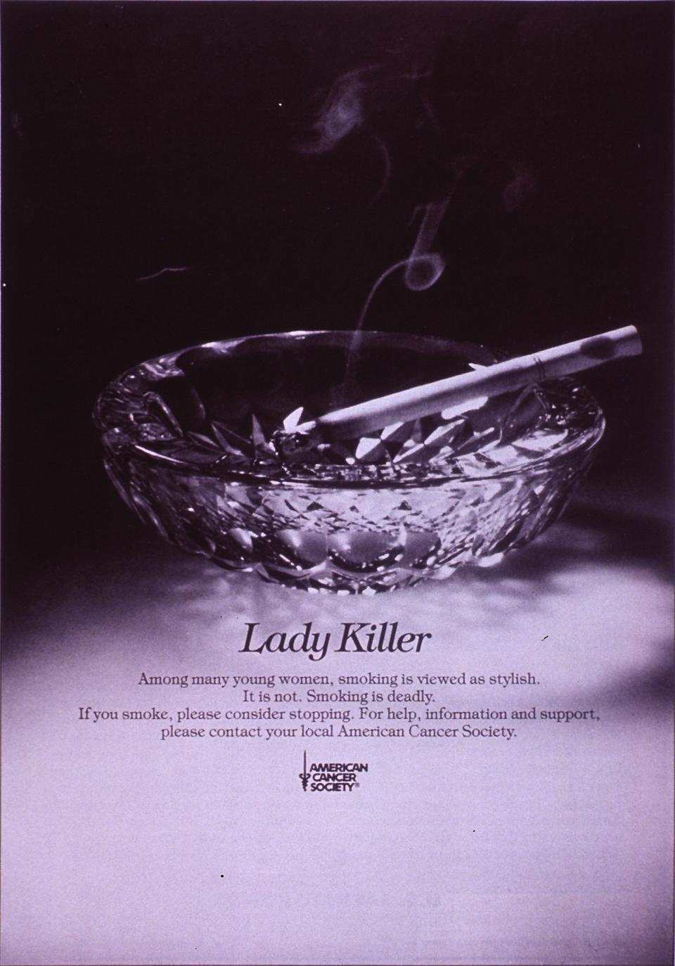 Visual Culture  AntiSmoking Campaigns  The Cigarette