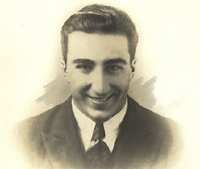 A Formal Photograph Of A Young Debakey In A Suit