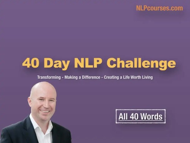 join the 40 day NLP challenge