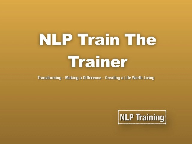 NLP Train the trainer course