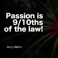 passion is 9/10's of the law