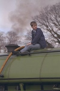 Antony Philip fills the water tank of Peckett 2104