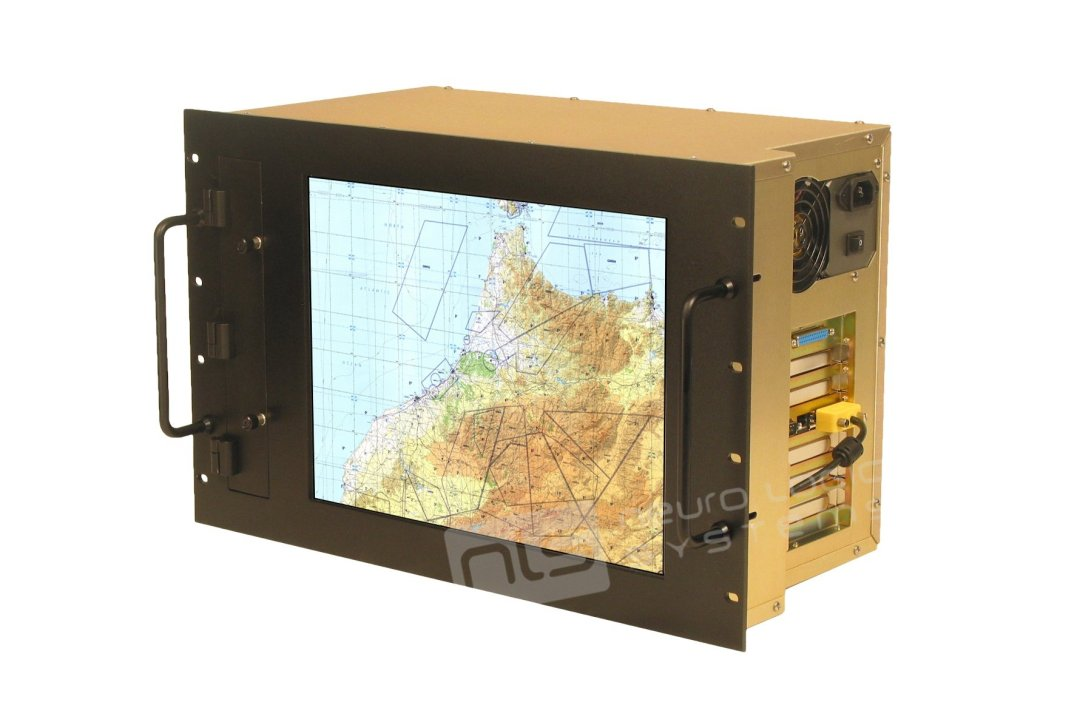 RW-15 Rack & Panel Mount Display