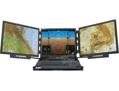 RFT2-3LH-19-USB-DVI Rugged Military Monitor