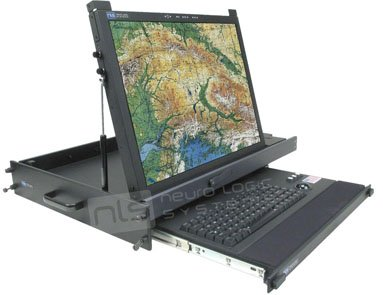 RFT-20-2U-RAR-USB Rugged Military Monitor