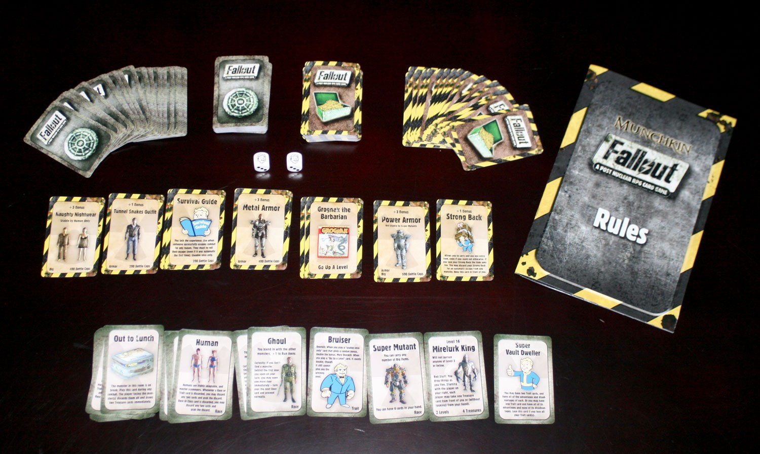 Fan Made Fallout Themed RPG Card Game No Mutants Allowed