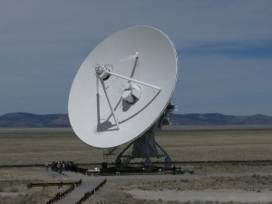 Photo of the VLA