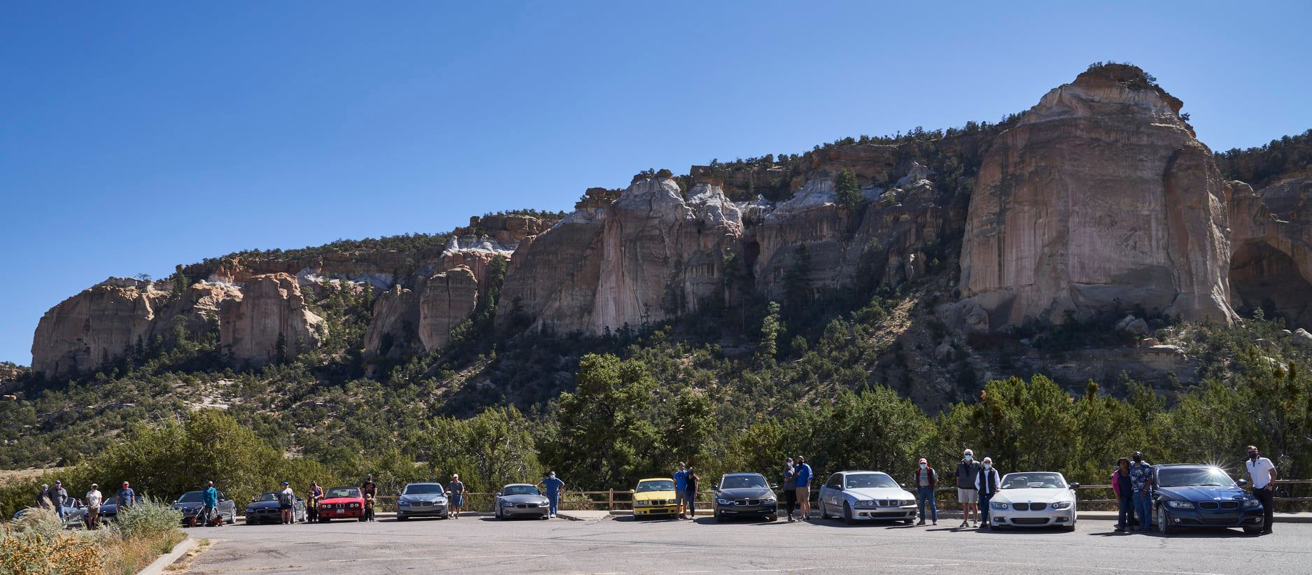 Photo from the NM BMW CCA 2020 Fall Tour by Jason Collin
