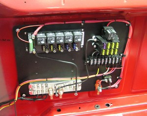 moparts: race car wiring