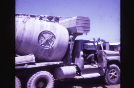 Best Transit Mixer in Nam, Gilbertson in truck