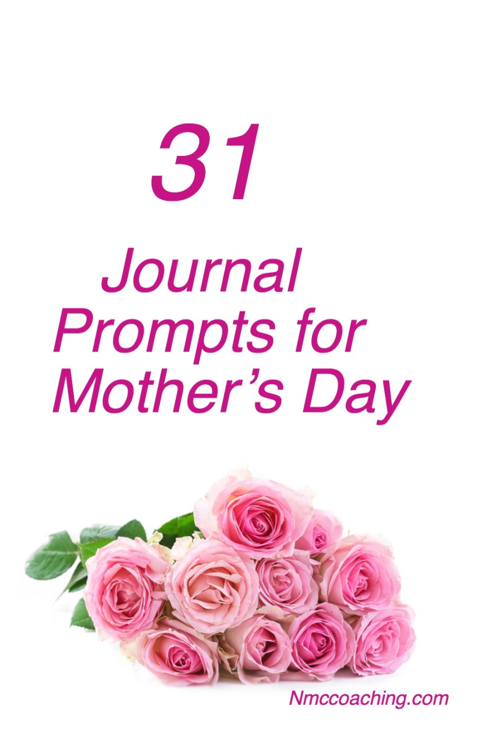 31 Journal Prompts for Mother's Day