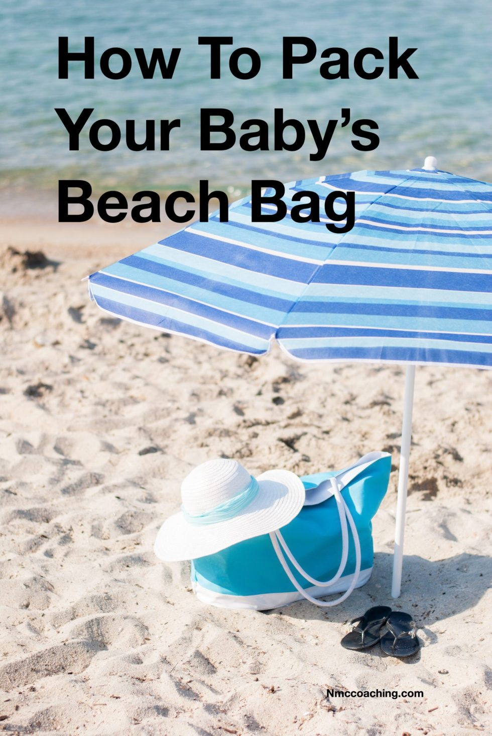 How to pack your baby's beach bag