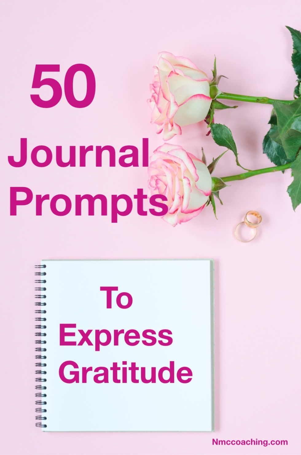 50 Journal Prompts to Express Gratitude