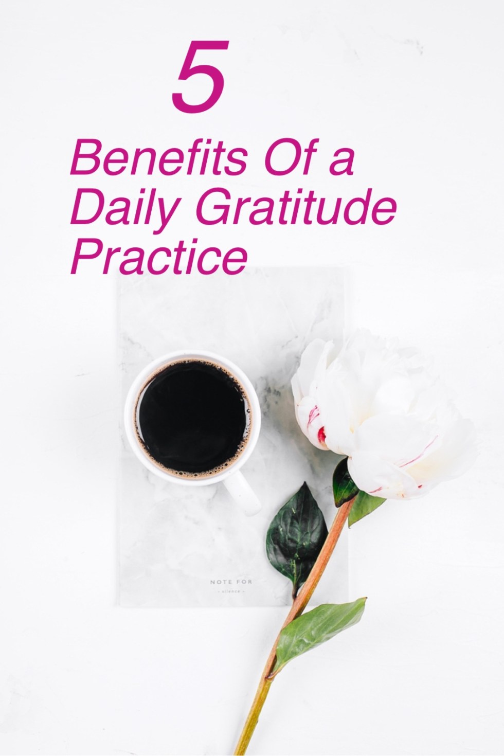 5 Benefits of a daily gratitude practice