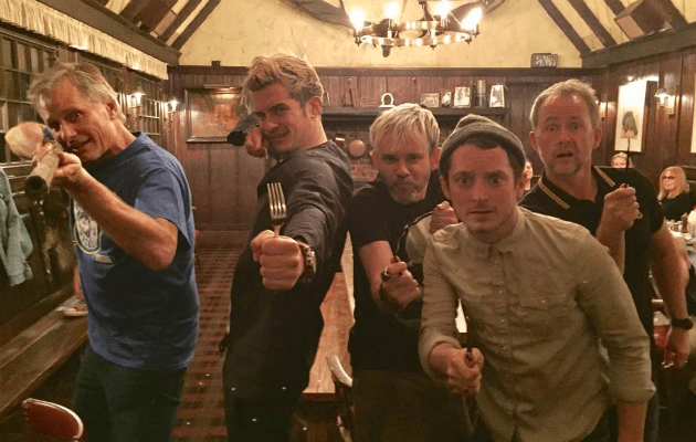 The Lord of the Rings cast reunite in 2017
