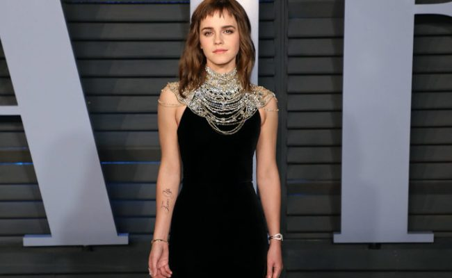 Emma Watson Jokes That She Needs A Tattoo Proofreader