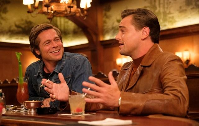Once Upon a Time in Hollywood Brad Pitt Tarantino Leonardo DiCaprio